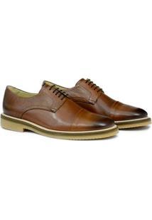 Sapato Social Adolfo Turrion Em Couro Confortável Liso - Masculino-Marrom
