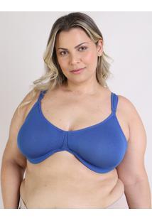 Sutiã Love Secret Size Moldado Com Aro Azul