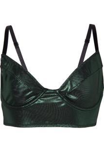 Sutiã Bobô Carla Underwear Verde Feminino (Verde Escuro, M)