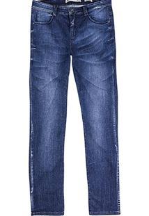 Calça Masculina Em Jeans Super Skinny