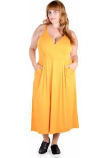 0d33cf993d Vestido Com Bolso Midi feminino