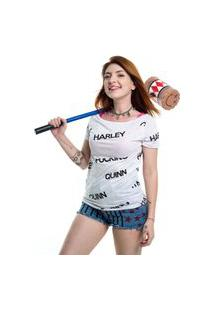 Camiseta Birds Of Prey Harley Quinn Branco