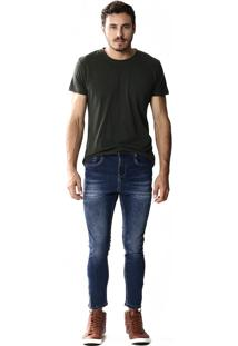 Calça Jeans Sawary Cropped - 253490 Azul