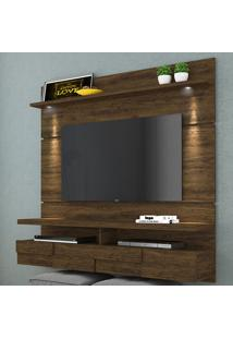 Painel Para Tv 2 Portas Lana 160 Cm 275024 Savana - Madetec