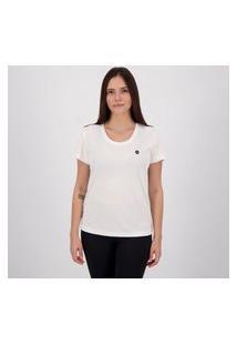 Camiseta Olympikus Essentials Feminina Branca