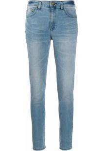 Michael Michael Kors Calça Jeans Cintura Média - Azul