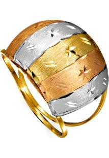 Pingente Em Ouro Espirito Santo Com Zircônia Em Rodio - Pg15883
