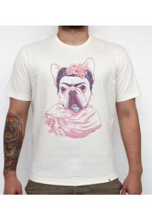 Fridog - Camiseta Clássica Masculina