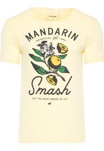 Camiseta Amarela Mandarin - Amarelo
