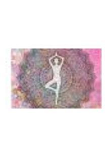 Painel Adesivo De Parede - Ioga - Mandalas - 1072Png