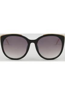 75087f89d CEA. Óculos De Sol Gatinho Feminino Oneself Preto - Único