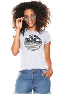 Camiseta Billabong Girls Spring Marine Cinza