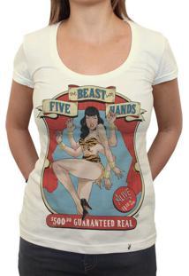 The Beast With Five Hands - Camiseta Clássica Feminina