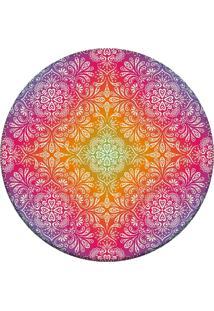 Tapete Love Decor Redondo Wevans Divine Rosa 94Cm