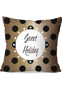 Capa De Almofada Love Decor Avulsa Sweet Holiday Multicolorido