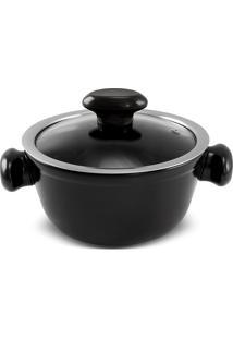 Caçarola 16Cm Chef 1 Litro-Ceraflame - Preto