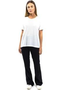 Camiseta T-Shirt Podrinha Eco Nature Feminina - Feminino-Off White