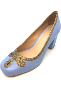 Scarpin Mentha Pimentha Sarah Azul
