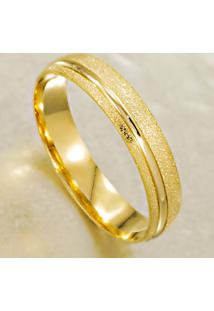 Aliança De Bodas Em Ouro Amarelo E Branco - As1270
