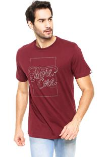 Camiseta Mcd Registered Vinho