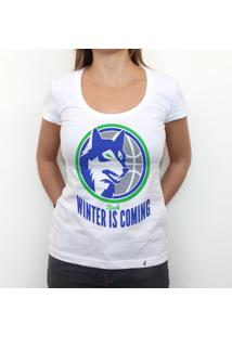 Winter Is Coming - Camiseta Clássica Feminina