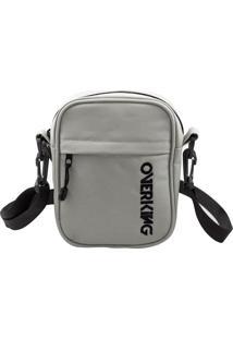 Bolsa Lateral Shoulder Bag Overking First Cinza