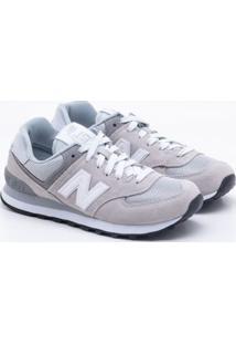 164ce79359 Gaston. Tênis New Balance Classic 574 Cinza Feminino 39