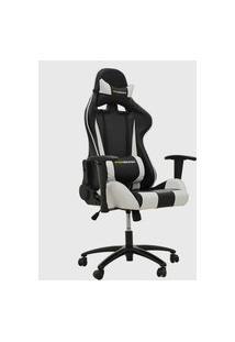 Cadeira Office Pro Gamer V2 Preta E Branco Rivatti