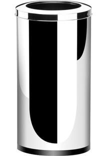 Lixeira Com Aro Decorline Inox 64L 3033211 Brinox