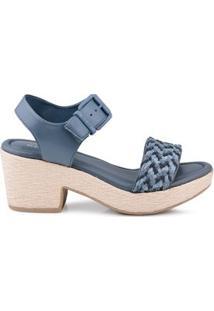 Anabela Tranças Royal Comfort Azul Azul/39