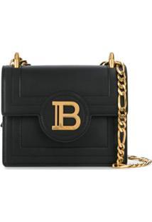 Balmain Bolsa Transversal Com Logo B - Preto