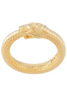 Nove25 Anel Ouroboros De Serpente - Dourado