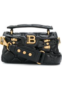 Balmain B-Buzz 19 Baguette Bag - Preto