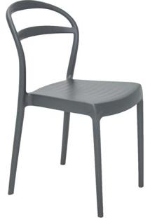 Cadeira Sissi- Grafite- 80X44X53Cm- Tramontinatramontina