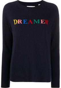 Chinti And Parker Suéter Dreamer De Tricô Com Padronagem - Azul