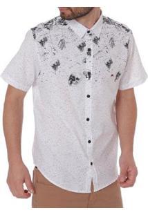 Camisa Mx 72 Manga Curta Masculina - Masculino-Branco