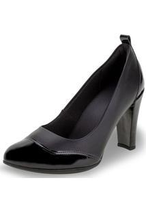 Sapato Feminino Salto Alto Piccadilly - 695003 Preto 34