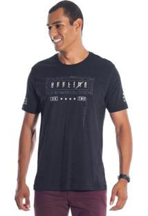 Camiseta Offline Preto Bgo