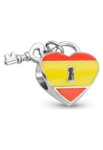 Pingente Life Coração Espanhol