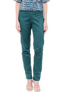Calça Energia Fashion Reta Verde