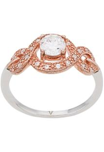 V Jewellery Tilly Ring - Prateado
