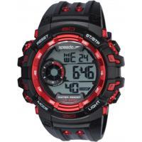 adcb5985d36 Relógio Digital Speedo 80614G0 - Masculino - Preto Vermelho