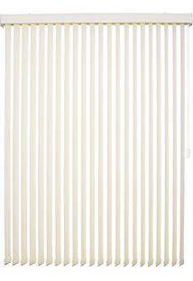 Persiana Tecido 89Mm Isadora Design Vertical 2,40Mx2,20M Bege