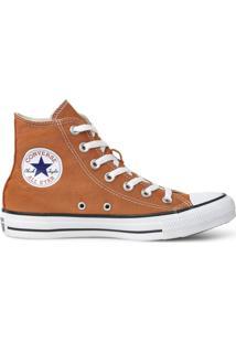 Tãªnis Converse All Star Chuck Taylor Seasonal Hi Vermelho Ferrugem Ct04190038 - Laranja - Feminino - Dafiti