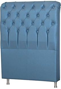 Cabeceira Casal King Com Pés De Alumínio Domus 1,95 Tcs-358 - Perfan