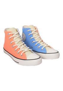 Tênis Converse All Star Chuck Taylor Hi Azul Coral Ct14650002