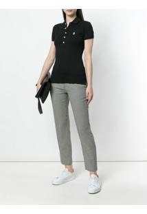 Polo Ralph Lauren Camisa Polo Mangas Curtas - Preto