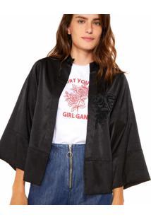 1511f8912904 Kimono Fashion Preto feminino | Starving