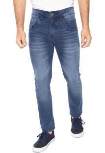 Calça Jeans Rock&Soda Skinny Rock Azul