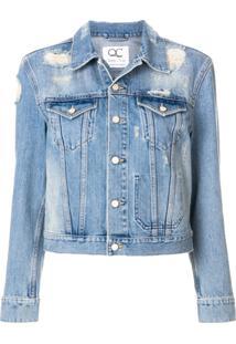 Quantum Courage Jaqueta Jeans - Azul
